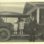 The Frank Ulric Roquemore Family car, May 1923