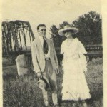 Frank Ulric and Vivian Spradling Roquemore, July 1917
