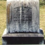 Headstone for John Emory Roquemore (1859-1924)