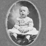 Joe K. Roquemore, 1st child of John Clarence and Minnie Pearl Roquemore, circa 1900