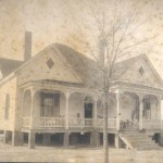 Home of Joseph Hatten and Emily Pace Roquemore, Mansfield GA, circa 1910s