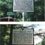Roadside Historical Marker, erected by McCormick County (SC) Historical Commission & The Huguenot Society of SC, 2000