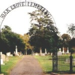 Oak Grove Cemetery Entrance, Nacogdoches County, Nacogdoches TX, 10/22/01