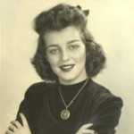 Mary Phyllis Roquemore, future wife of Frank Ulric Roquemore Jr, and mother of webmaster, April 1941